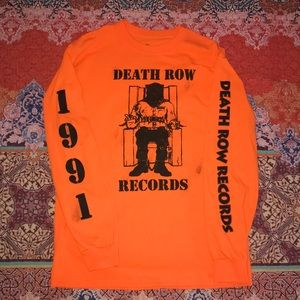 Orange Death Row Records Long Sleeve 🌆🔥